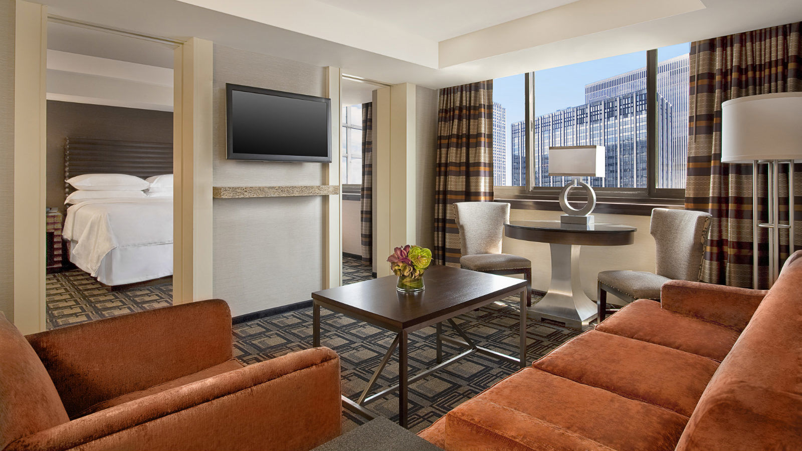 Executive Suite at Sheraton New York Times Square Hotel