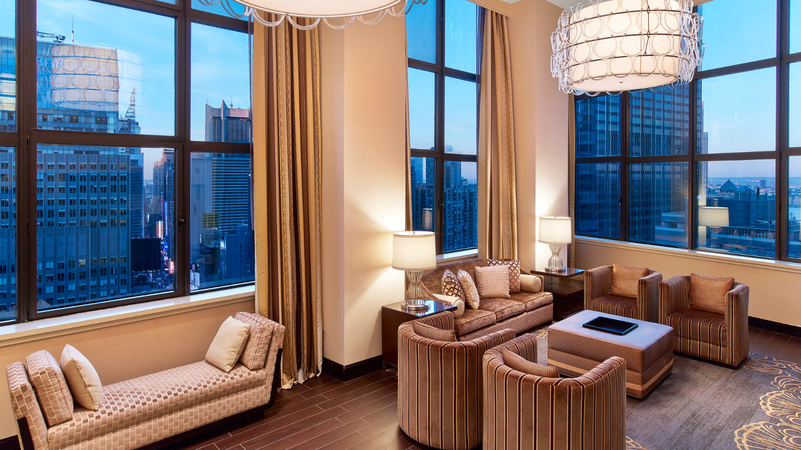 Penthouse Suite at Sheraton New York Times Square Hotel