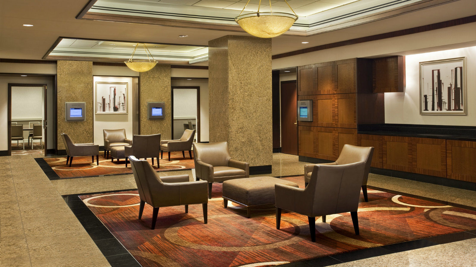 Sheraton New York Times Square Hotel - Executive Conference Center Lounge Area