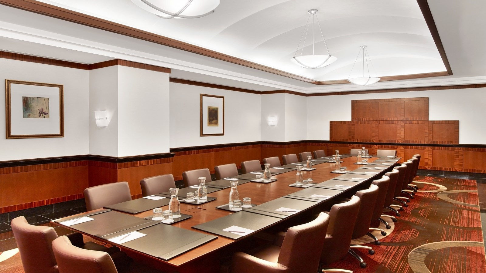 Sheraton New York Times Square Hotel - Executive Conference Center Boardroom