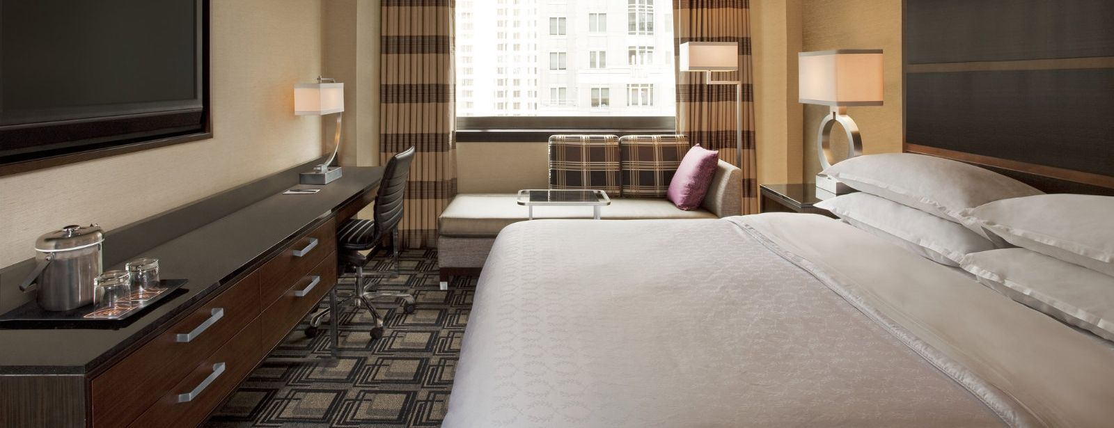 Premier View Guest Rooms at Sheraton New York Times Square Hotel